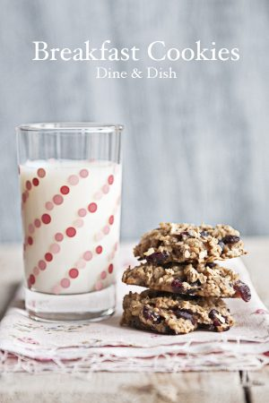 Morning Chaos {Recipe: Breakfast Cookies}