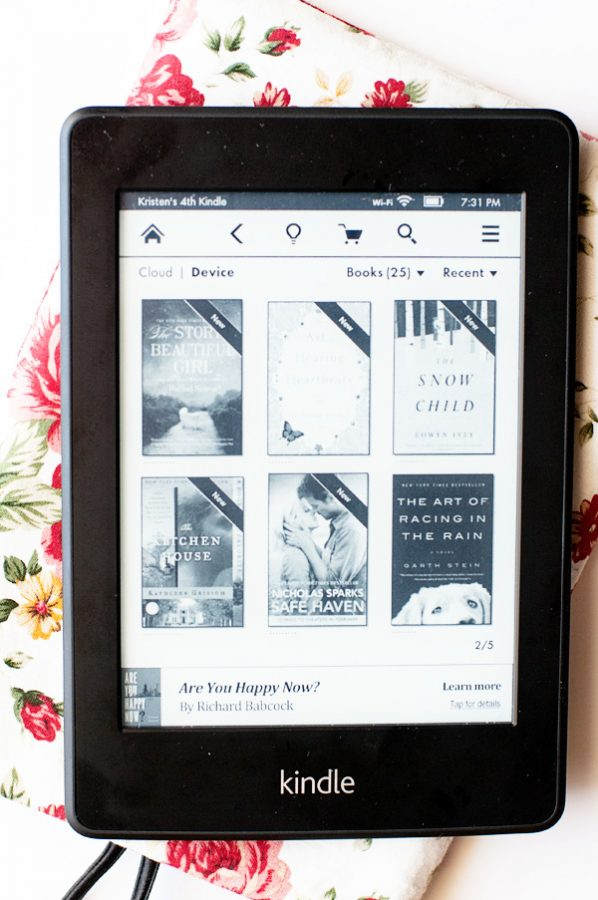Kindle Library Screen