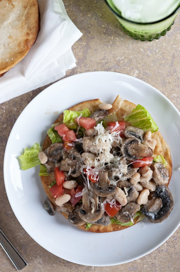 Mushroom and White Bean Tart Recipe