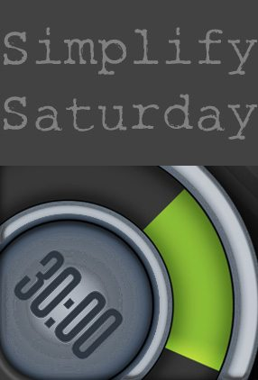 Simplify Saturday: The 30/30 Time Management App