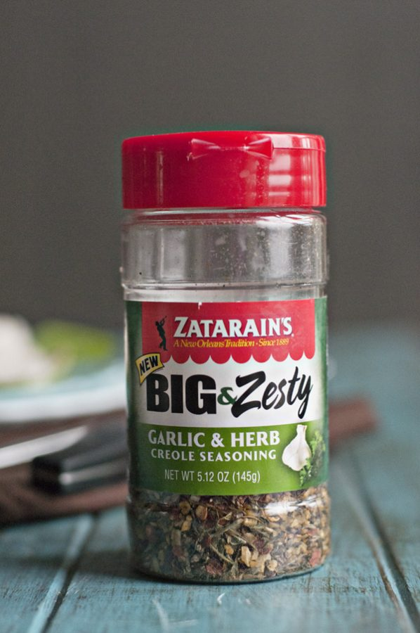 Zatarain's Big and Zest Garlic & Herb Seasoning