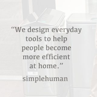 The SimpleHuman Philosophy www.dineanddish.net