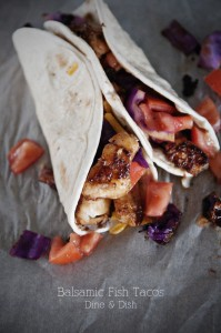 Menu Plan: Feb 24th – March 2nd {Recipe: Balsamic Fish Tacos}