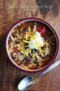 Dine and Dish Menu Plan: February 17th – 23rd {Recipe: Taco Soup}