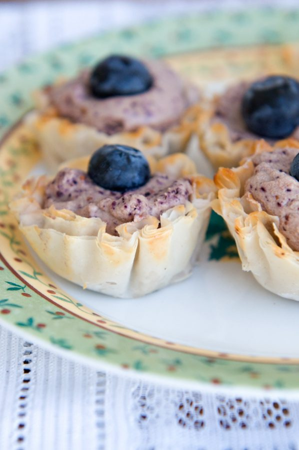 Blueberry-Mousse-Bites