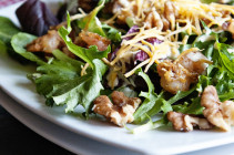 Walnut Shrimp Salad with Kraft Fresh Take