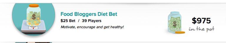 Kristen's Diet Bet