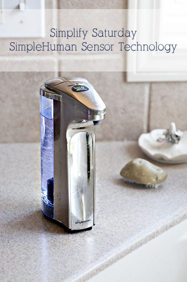 SimpleHuman Sensor Technology Soap Pump
