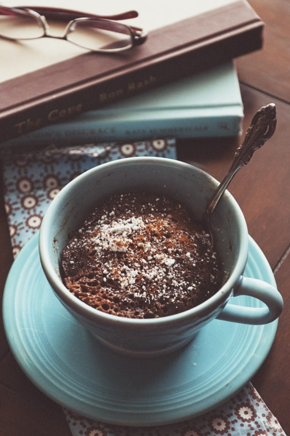 5 Minute Chocolate Cinnamon Mug Cake