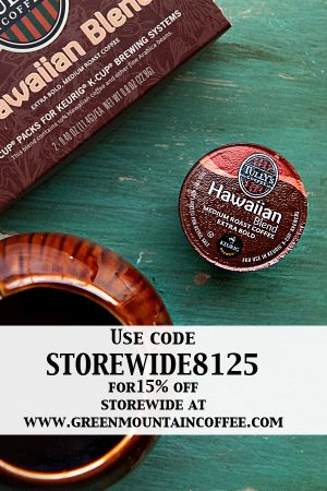 Tully's® Hawaiian Blend and Green Mountain Coffee Discount