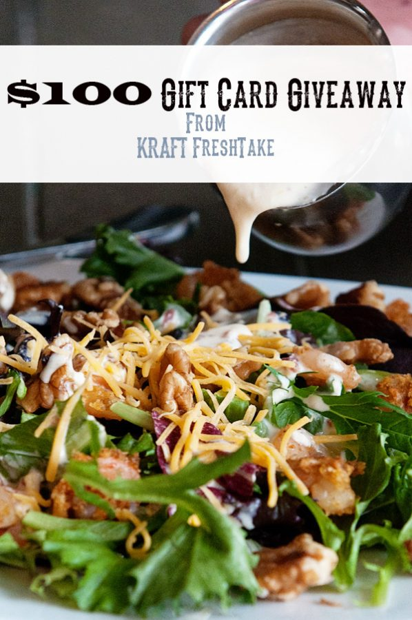 Kraft FreshTake $100 Gift Card Giveaway