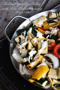 Recipe: Grilled Vegetable Medley with Blue Cheese Dressing