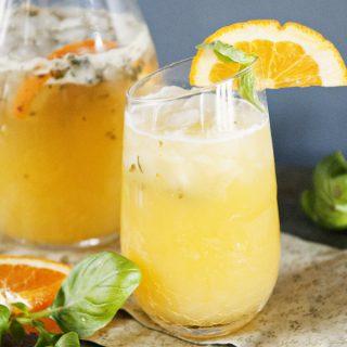 Orange-Basil Mojito Recipe Dine & Dish