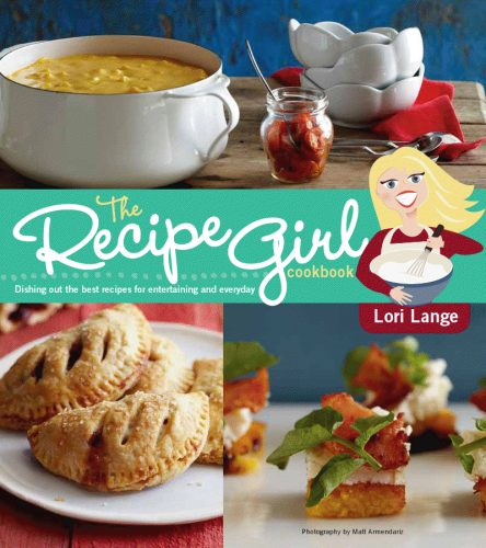 Recipe Girl Cookbook Cover