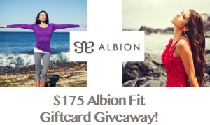 $175 Albion Fit Fitness and Swimwear Giveaway!