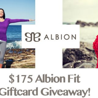 Albion Fit $175 Gift Card Giveaway on www.dineanddish.net