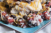 Southwest Black Bean Chicken & Rice