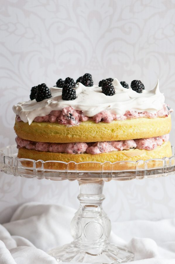 Blackberry Lime Cake 3