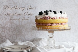 Celebrate Spring {Recipe: Blackberry Lime Sunshine Cake}