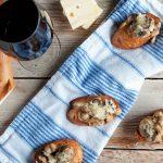Mushroom and White Bean Crostini