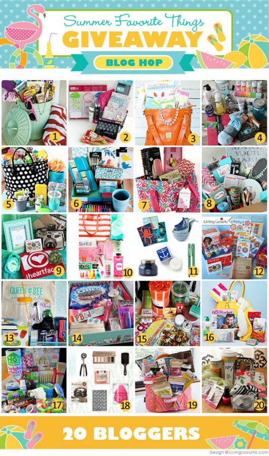 Summer Favorite Things Group Blog Giveaway