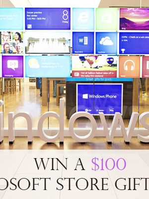 Microsoft Stores – What You Need to Know {$100 Giveaway}