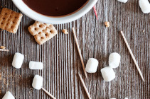 S'mores Chocolate Fondue Bites Without a Fondue Pot