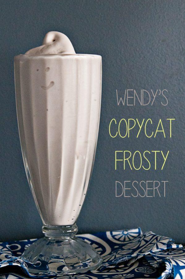 Wendy's Copycat Frosty Dessert from www.dineanddish.net