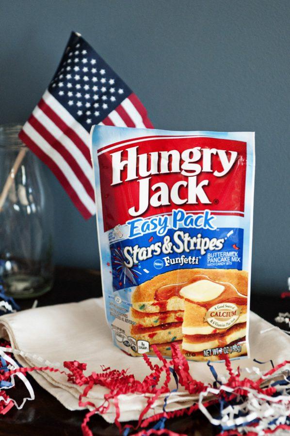 Hungry Jack Stars and Stripes Funfetti Pancake Mix