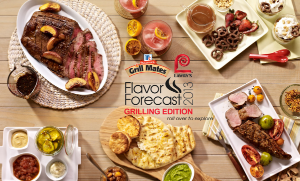 McCormick's 2013 Grilling Flavor Forecast