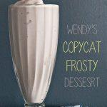 Wendy's Copycat Frosty Dessert Recipe from www.dineanddish.net