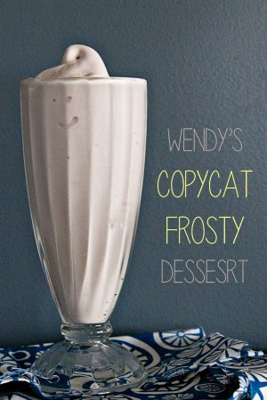 Spoon It or Slurp It? {Recipe: Wendy's Copycat Frosty}