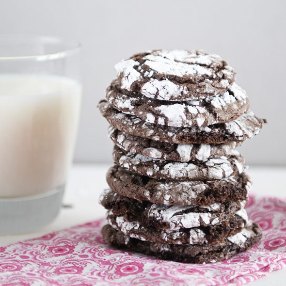 The easiest and most popular chocolate cookie recipe on Dine & Dish!
