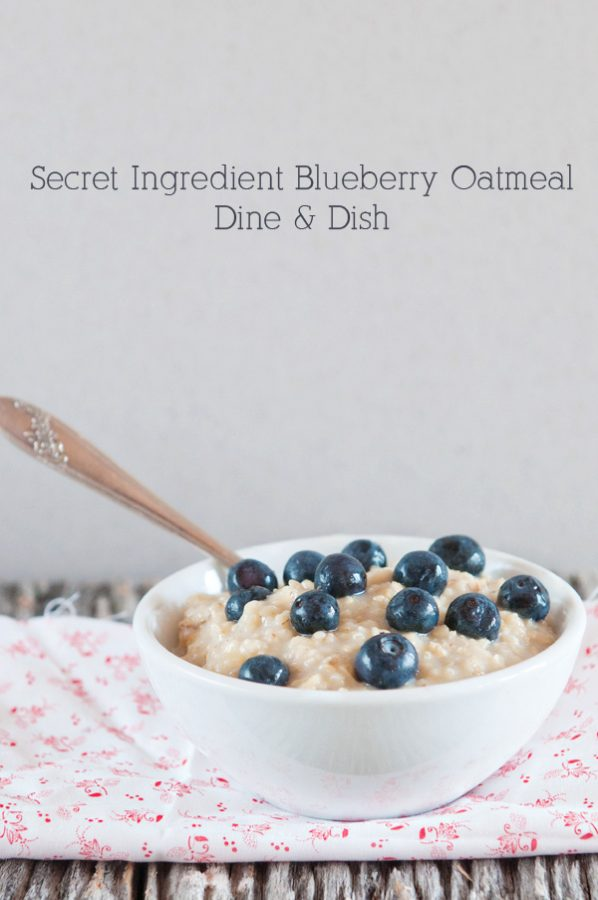 Secret Ingredient Blueberry Oatmeal