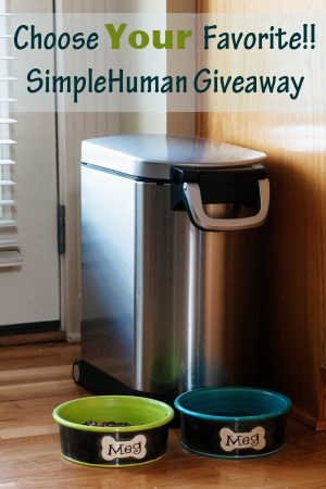 Choose Your Favorite SimpleHuman Product! {Giveaway}