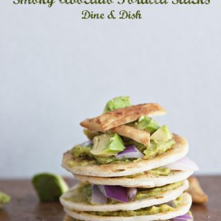 Smoky Avocado Tortilla Stack from www.dineanddish.net