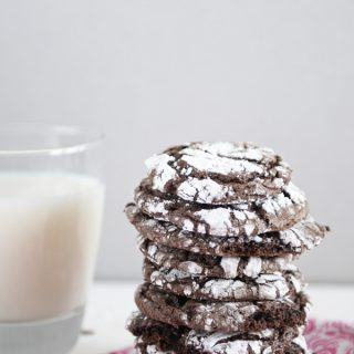 Super Simple Chocolate Cool Whip Cookies 3 Ingredients www.dineanddish.net