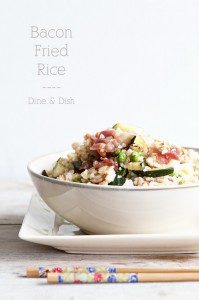 Two Dilemmas {Recipe: Bacon Fried Rice}