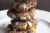 The Very Best Black Bean Burgers by www.dineanddish.net