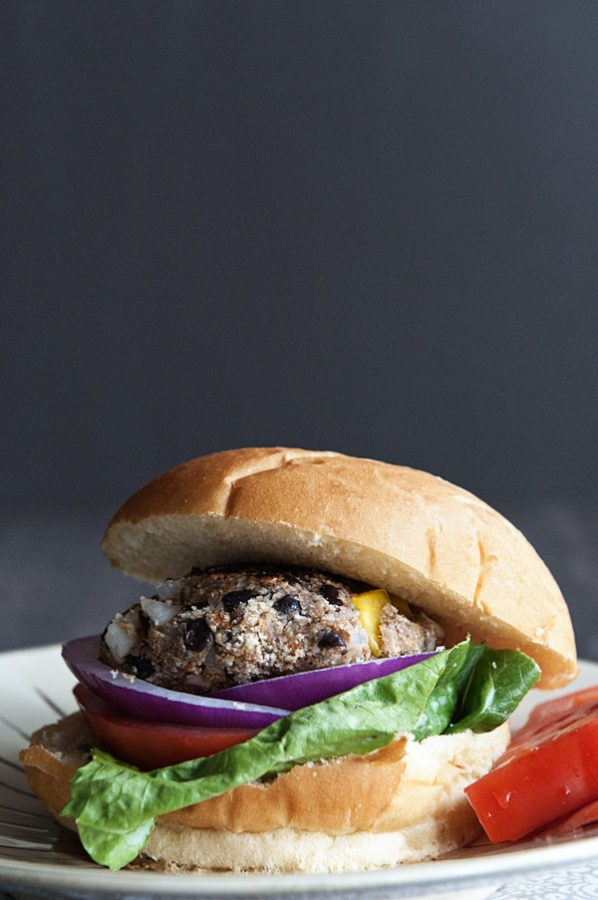 Black Bean Veggie Burgers www.dineanddish.net