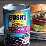 Bush's Black Beans used for the best Black Bean Veggie Burgers
