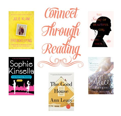 Connect Through Reading - 5 Great Summer Reads Reviewed at www.dineanddish.net