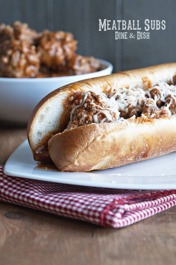 Homemade Meatball Subs from www.dineanddish.net