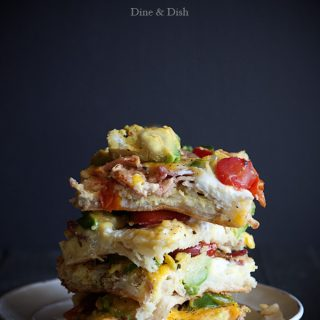 California Avocado Breakfast Casserole from www.dineanddish.net