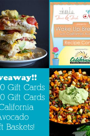 Wake Up Breakfast with California Avocados – Giveaway!