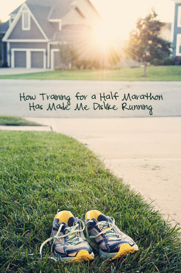 How Training for a Half Marathon has made me dislike running from www.dineanddish.net