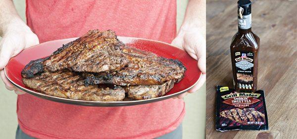 McCormick Rub, Marinade and Steak Sauce