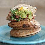 DIY Stuffed Breakfast Sandwiches from www.dineanddish.net