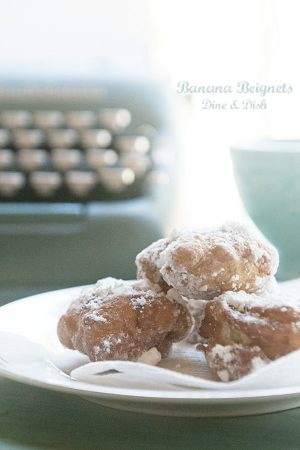 Connect Through Reading {Recipe: Banana Beignets}