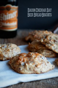 Recipe: Bacon Cheddar Bay Beer Bread Biscuits
